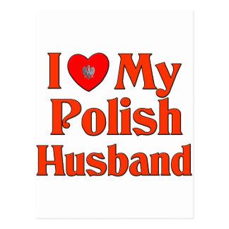 Amo a mi marido polaco postales