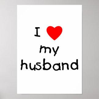 Amo a mi marido póster