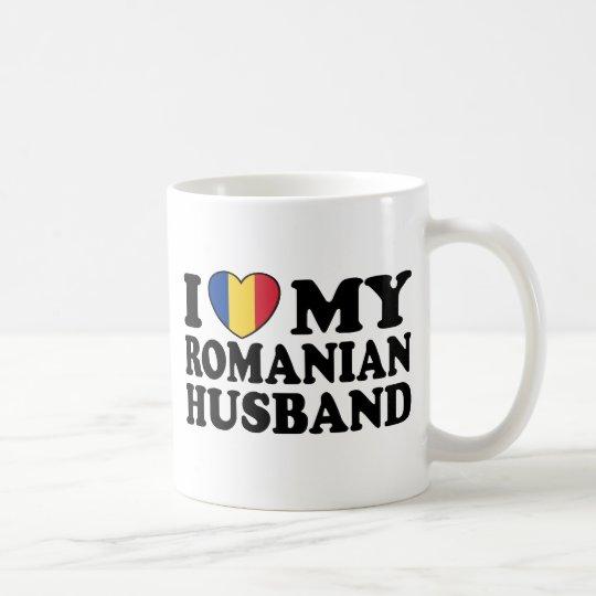 Amo a mi marido rumano taza de café