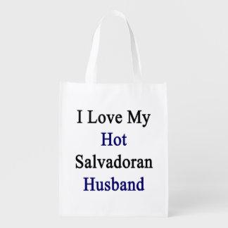 Amo a mi marido salvadoreño caliente bolsa de la compra