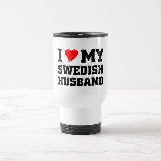 Amo a mi marido sueco taza térmica