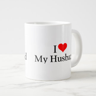 Amo a mi marido taza grande