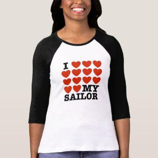 Amo a mi marinero camiseta