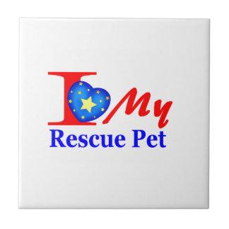 """Amo a mi mascota """"Heroes4Rescue """" del rescate Azulejos"""