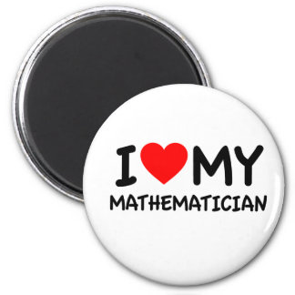 Amo a mi matemático imán