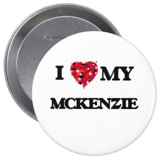 Amo a MI Mckenzie Pin Redondo 10 Cm