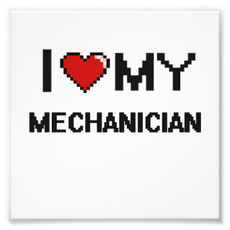 Amo a mi mecánico cojinete