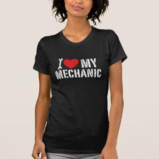 Amo a mi mecánico camisetas