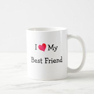 Amo a mi mejor amigo taza