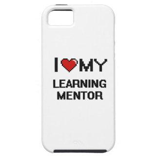 Amo a mi mentor de aprendizaje iPhone 5 Case-Mate cárcasa