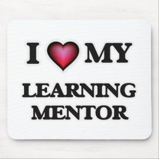 Amo a mi mentor de aprendizaje mouse pad