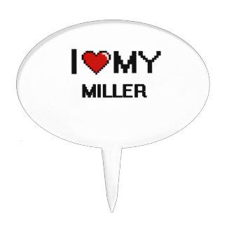 Amo a mi Miller Decoración De Tarta
