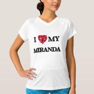 Amo a MI Miranda Playeras