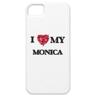 Amo a mi Mónica iPhone 5 Carcasa