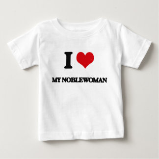 Amo a mi mujer noble playeras