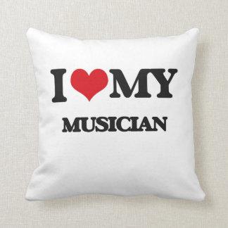 Amo a mi músico cojines