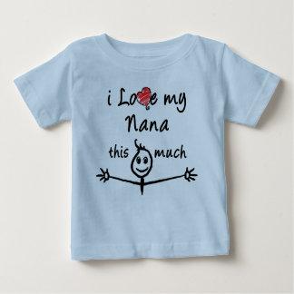 ¡Amo a mi Nana! (Abuelo) Playera De Bebé