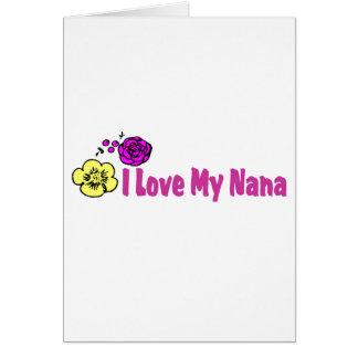 Amo a mi Nana Tarjeta