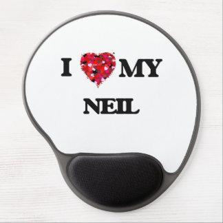 Amo a mi Neil Alfombrilla Con Gel