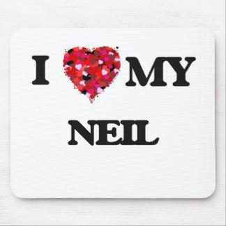 Amo a mi Neil Tapete De Ratón