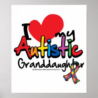 Amo a mi nieta autística poster