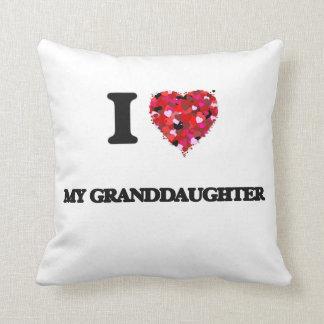 Amo a mi nieta almohada