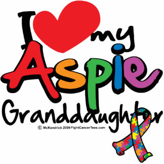 Amo a mi nieta de Aspie Fotoescultura Vertical