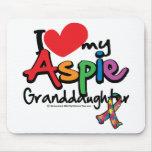 Amo a mi nieta de Aspie Tapete De Raton