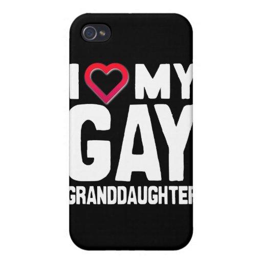 AMO A MI NIETA GAY - - .PNG iPhone 4 CARCASA