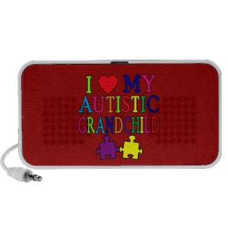 Amo a mi nieto autístico iPhone altavoz