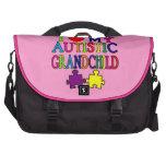 Amo a mi nieto autístico bolsas de portatil