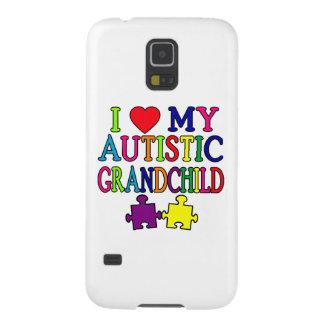 Amo a mi nieto autístico carcasas de galaxy s5