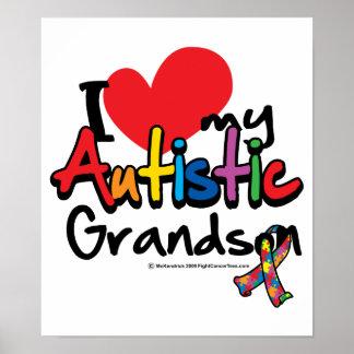 Amo a mi nieto autístico poster