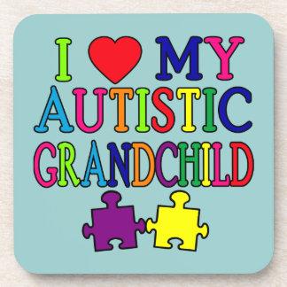 Amo a mi nieto autístico posavasos