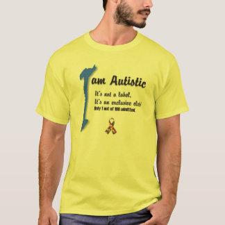 Amo a mi niño con el autismo - desig único de la playera