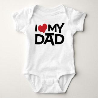 Amo a mi niño del día de padre del papá tee shirts
