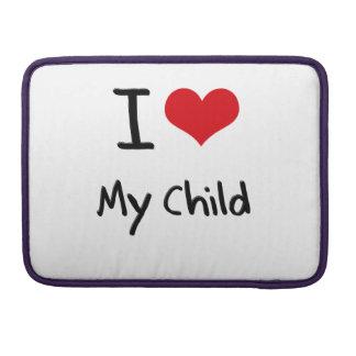 Amo a mi niño funda macbook pro