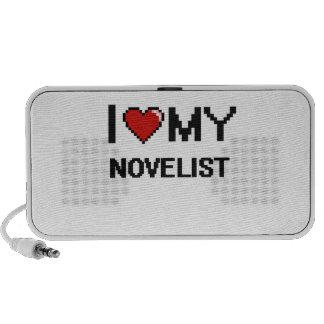 Amo a mi novelista mini altavoz