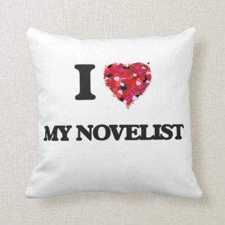 Amo a mi novelista cojín