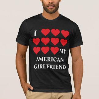 Amo a mi novia americana playera