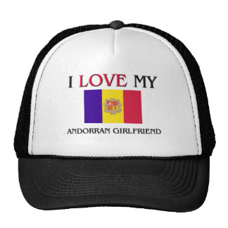 Amo a mi novia andorrana gorra