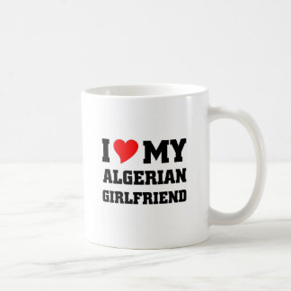 Amo a mi novia argelina taza