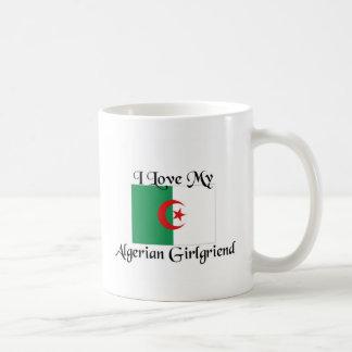 Amo a mi novia argelina taza de café