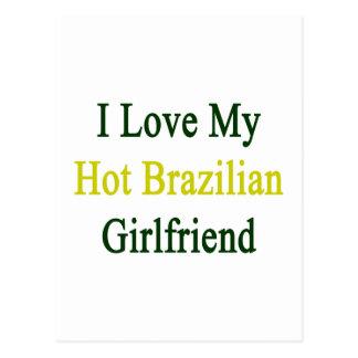 Amo a mi novia brasileña caliente