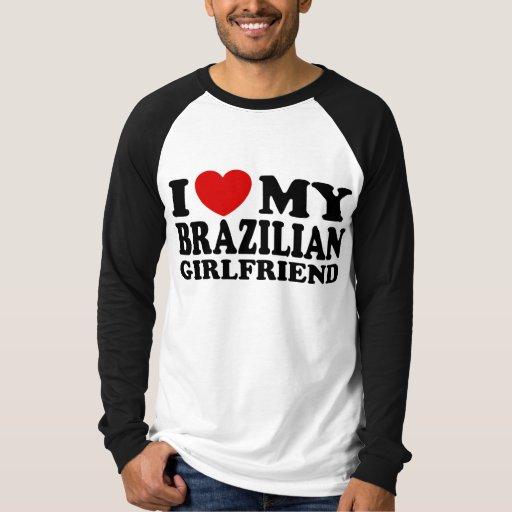 Amo a mi novia brasileña playera