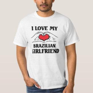 Amo a mi novia brasileña poleras