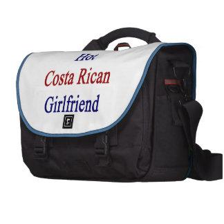 Amo a mi novia caliente de Rican de la costa Bolsas De Portátil