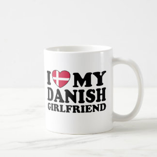 Amo a mi novia danesa taza