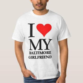 Amo a mi novia de Baltimore Playera