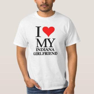 Amo a mi novia de Indiana Playeras